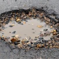 Parking Lot Pothole Repair