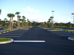 boca raton parking lot striping
