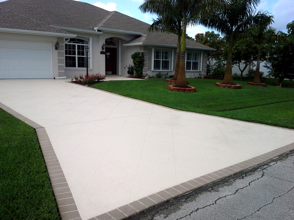Cost To Resurface Your Driveway Boca Palm Beach Seal Coating